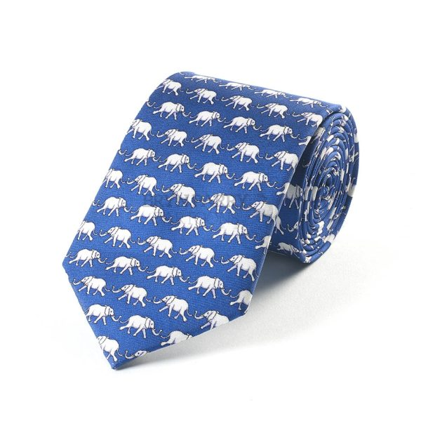 Elephants Blue 079