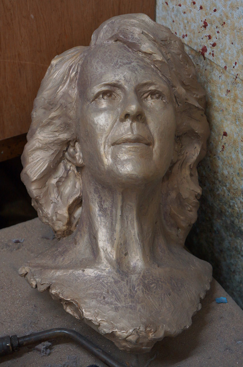 Raw Bronze Head
